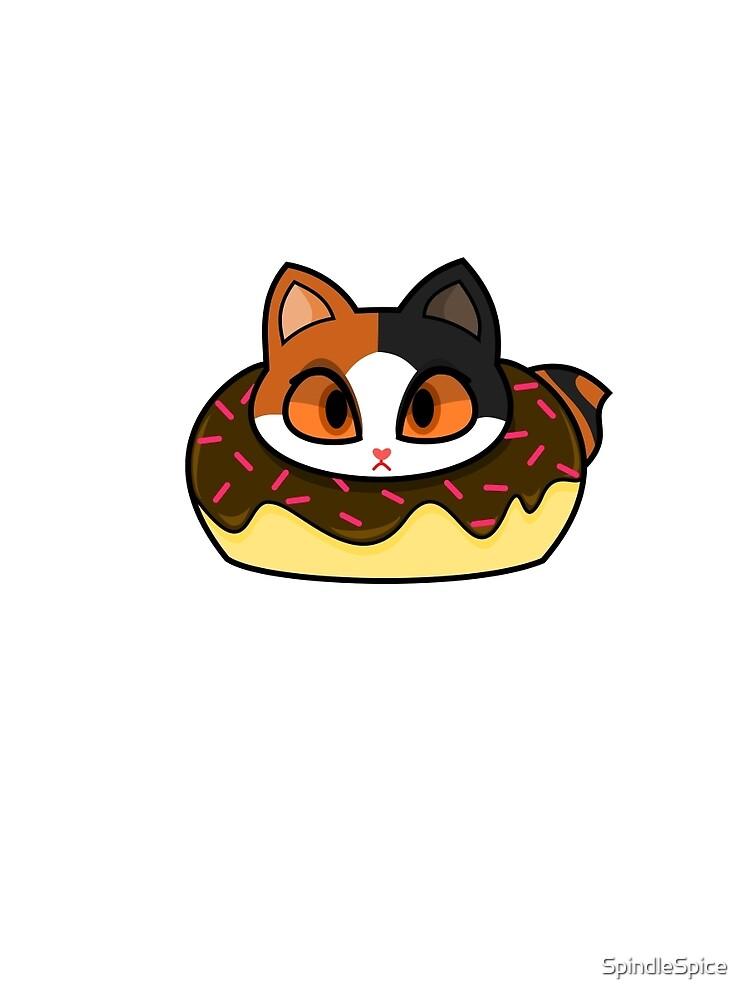 Japanese Bobtail Donut Cat by SpindleSpice
