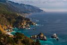 Big Sur Central California Coast View Point by photosbyflood