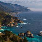 Big Sur Central California Coast View Point by photosbyflood