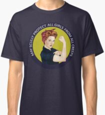May Scully protect all girls from all creeps Classic T-Shirt
