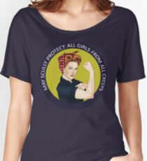 May Scully protect all girls from all creeps Women's Relaxed Fit T-Shirt