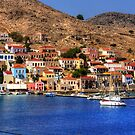 The Waterfront on Chalki by Tom Gomez