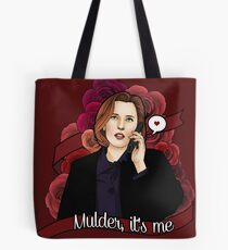 XF Dana Scully  Tote Bag
