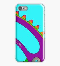 Psychedeli-Cat Chainring iPhone Case/Skin