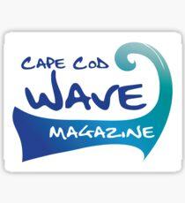 Cape Cod Wave Sticker
