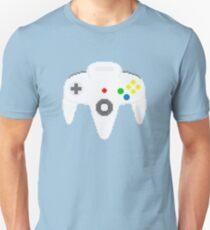 Nintendo 64 controller in pixelart T-Shirt