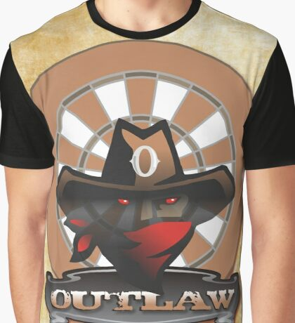 Outlaw Darts Shirt Graphic T-Shirt