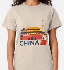 China, Beijing skyline Classic T-Shirt