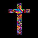 Stained Glass Cross by Artondra Hall