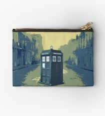 Tardis in the old town Studio Pouch