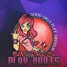 Bad Girls Play Darts by mydartshirts