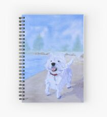 Enzo by the Lake Spiral Notebook