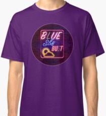 Blue Sky Bust Neon Shirt Classic T-Shirt
