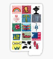 Shred Icons - 90's Mack Pack Sticker