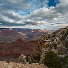 Grand Canyon Storm Approaching by photosbyflood