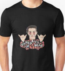 Shred Til Ur Dead | Getter | Black Unisex T-Shirt