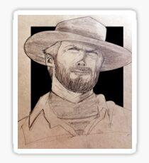 Clin Eastwood Sticker