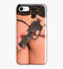Girls and Guns... Digital Painting iPhone Case/Skin