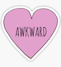 AWKWARD LOVE Sticker