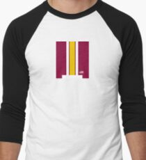 Skins Helmet Stripe Men's Baseball ¾ T-Shirt