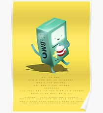 Oh BMO, how'd you get so pregnant? Poster