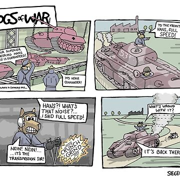 The Dogs of War: Comic #1 by siege103