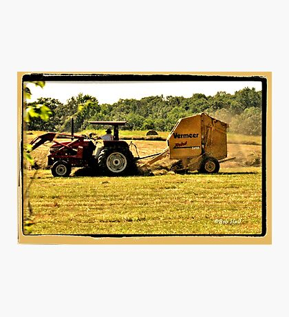 """Burnin' Daylight and makin' Hay""... prints and products Photographic Print"