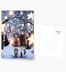 Stars in Winter Postcards