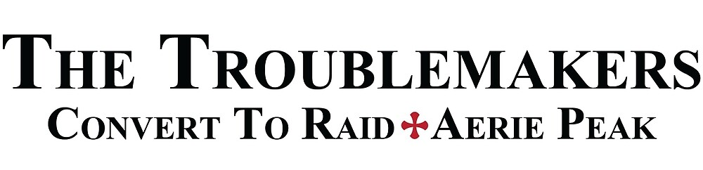 Raid Team Merchandise by CTRoublemakers