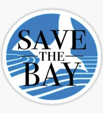 Save the Bay Sticker