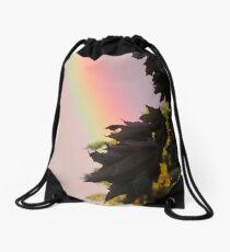 Wish Upon a Rainbow Drawstring Bag