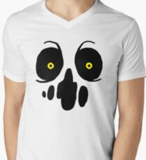The Binding of Isaac- Delirium  Men's V-Neck T-Shirt