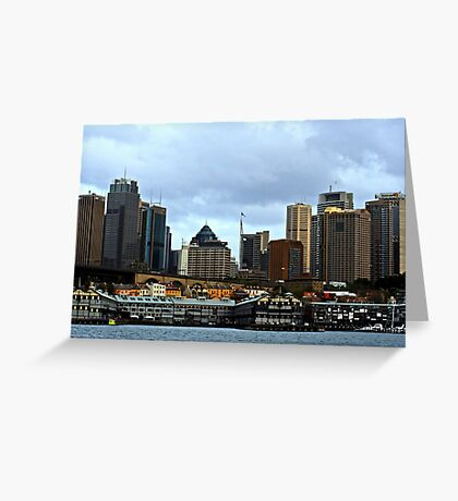 View Of Sydney #2 Greeting Card