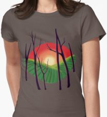 Sundown Women's Fitted T-Shirt