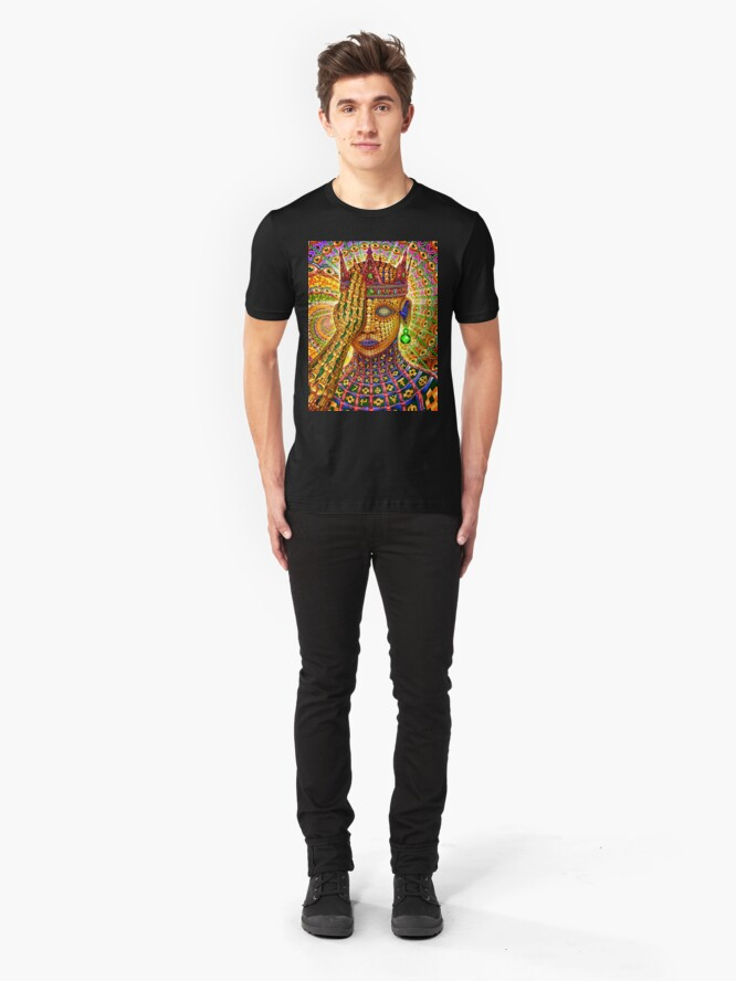 Alternate view of Overclocked Cortex Slim Fit T-Shirt