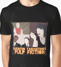 Pulp Fiction Poster Graphic T-Shirt