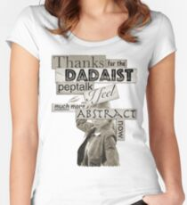 Dadaist Peptalk - Buffy Women's Fitted Scoop T-Shirt