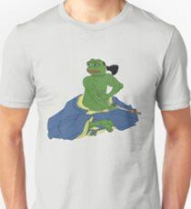 "RARE PEPE FROG ""COMMITtING SEPPUKU"" AUTUMn ENDS Unisex T-Shirt"