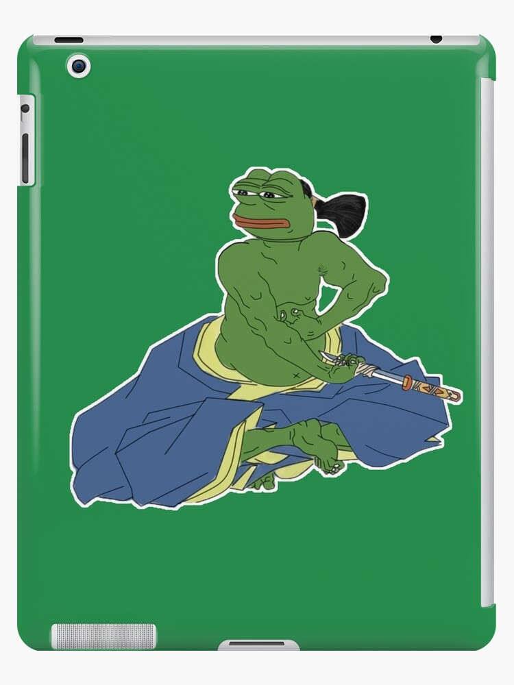 Rare pepe frog committing seppuku autumn ends by extremistshop