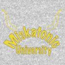 Miskatonic University Zip-up Hoodie by ReelNightmare
