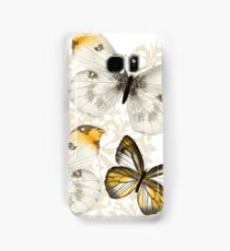 Yellow and black butterflies Samsung Galaxy Case/Skin