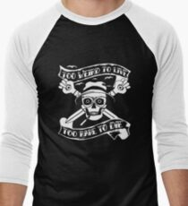 Too weird to live.. to rare to die - Hunter S Thompson Skull Parody T-Shirt