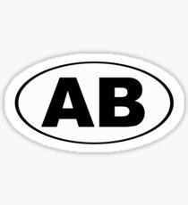 Arapahoe Basin Colorado Oval AB Sticker