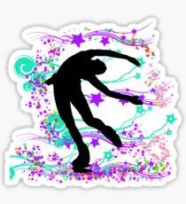 Skater's Dream Spin Sticker