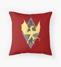Akatosh Reborn as Martin Septim Throw Pillow