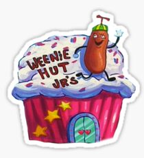 Weenie Hut, Jr. Spongebob Squarepants Sticker