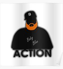 Rap / Hip-Hop: ACTION BRONSON Poster