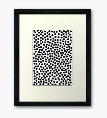 dots Framed Print