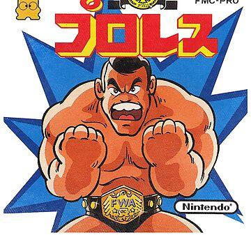 Pro Wrestling by johnbjwilson