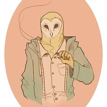 Owl Guy by NomadicPlanet